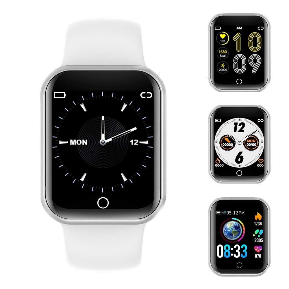 Reloj Inteligente, 1.4 Inch Smartwatch with Monitoreo de presión Arterial, Pulsómetro Impermeable IP68 Pulsera Actividad… 1