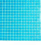 Vetro Mosaico B011 Mosaico De Vidrio, Azul Claro