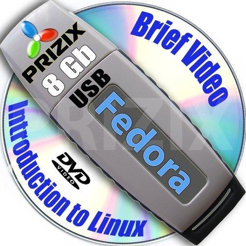 Fedora 26 auf 4GB USB Stick Flash Drive und komplettes Installations- and Referenz- Set (2 DVDs) Ed. 2011 (Guide Fedora)