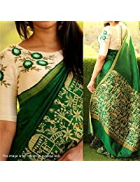 SAREES FOR WOMEN Latest designer for Party Wear Buy in Today Offer in Low Price Sale, Free Size Ladies Sari, Fancy Material Latest Sarees, Designer Beautiful Bollywood Sarees, sarees For Women Party Wear Offer Designer Sarees, saree With Blouse Piece, New Collection sari, Sarees For Womens, New Party Wear Sarees, Women's Clothing Saree Collection in Multi-Coloured For Women Party Wear, Wedding, Casual sarees Offer Latest Design Wear Sarees With Blouse Piece (Green)