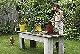 elho green basics anzuchttopf 30cm Blumentopf - wald grün -