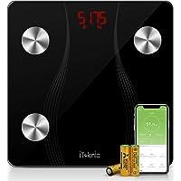 iTeknic Bilancia Impedenziometrica Bilancia Pesa Persona Digitale,Smart Bluetooth Diagnostica Misura 13 Dati Massa Magra…