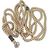 Loggyland Schaukelseil Kletterseil Spielseil Seil 7,60 m Lang Ø 28mm