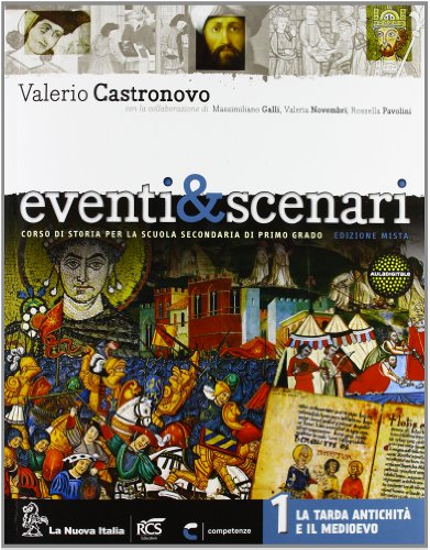 Eventi & scenari. Con Atlante-Cittadinanza. Per la Scuola media. Con DVD. Con espansione online: 1