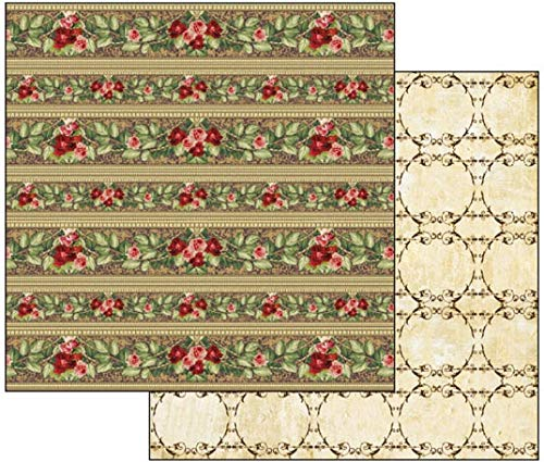 Stamperia Double-Sided Cardstock 12