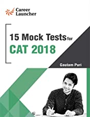 CAT 2018 15 Mock Tests