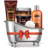 Bryan & Candy New York Cocoa Shea Bath Tub Diwali Gift Set For Women And Men Combo For Complete Home Spa Experience (Shower G