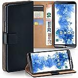 LG G3s Hülle Schwarz mit Karten-Fach