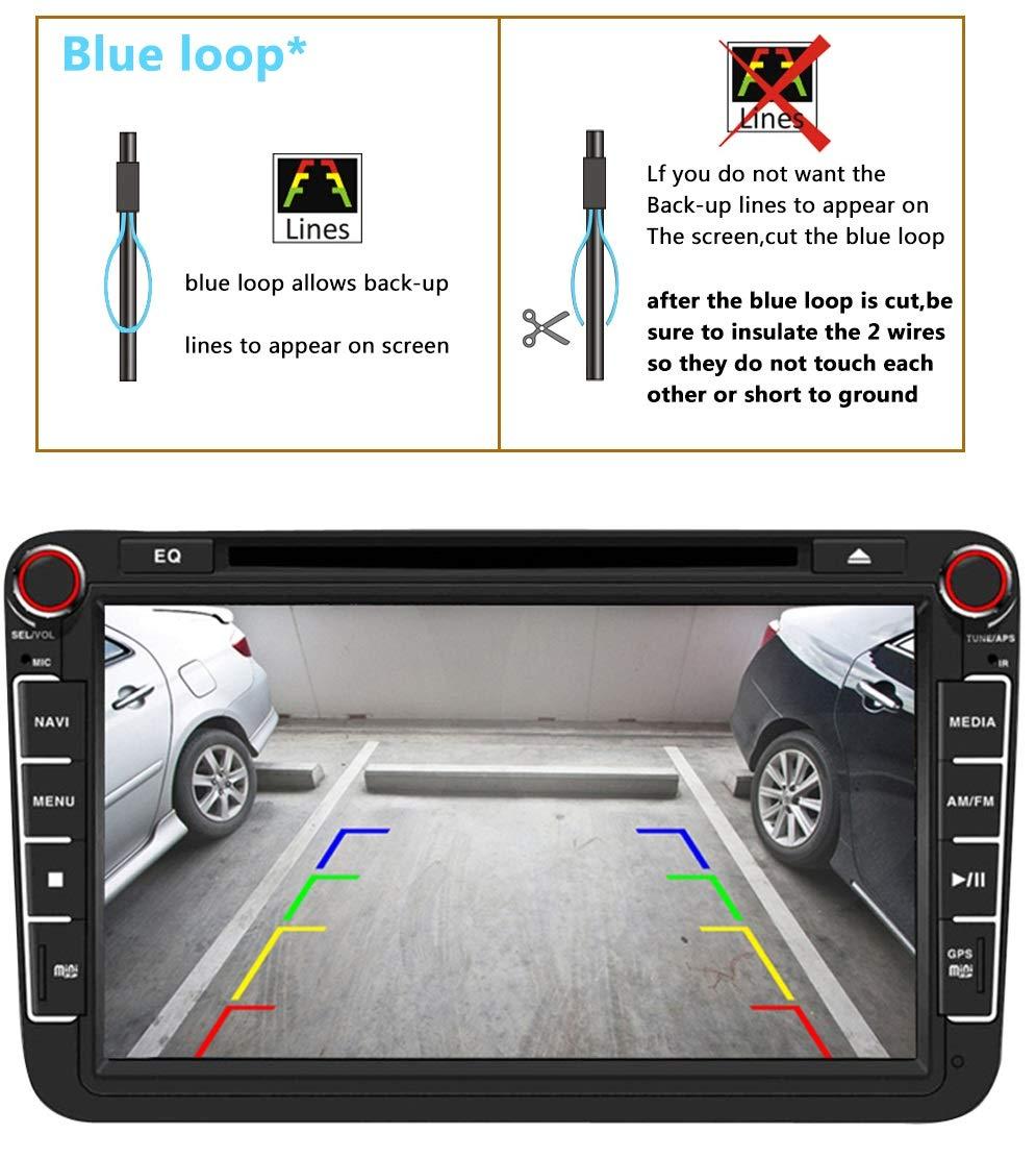 Auto-Rckfahrkamera-Farbkamera-Einparkkamera-Nachtsicht-und-fr-Rckfahrsystem-Einparkhilfe-Wasserdicht-Stofest-fr-Jeep-Wrangler-JKUJeep-JK-YJTJJK-J8-RubiconSaharaUnlimited-Sahara