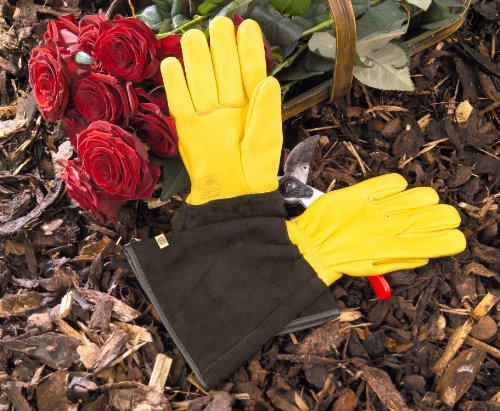 Gold Leaf Tough Touch Gartenhandschuhe für Damen