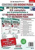 Concorso OSS Regione Puglia. Kit Completo 2445 OSS Ospedalieri Riuniti AOU Foggia. Con software di simulazione