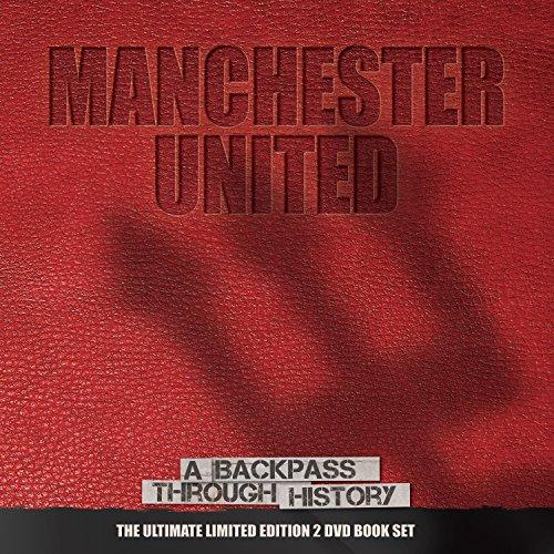 Man Utd – A Backpass Through History (Hardback Book + 2 DVD)
