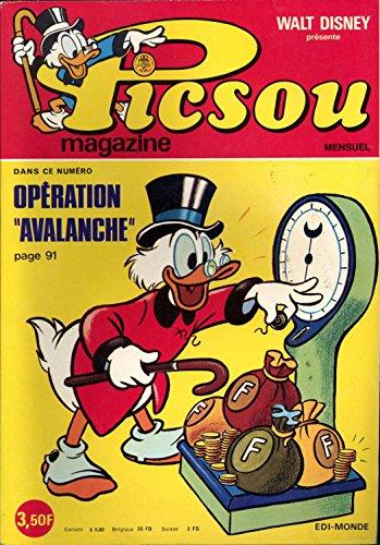 Picsou N° 49 Opération avalanche par Walt Disney