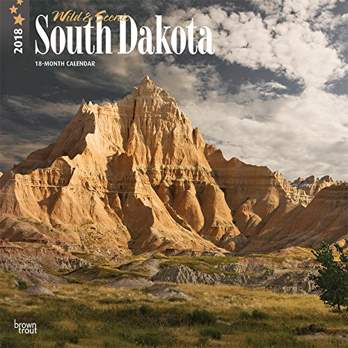 2018 South Dakota, Wild & Scenic Wall Calendar