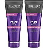 JOHN FRIEDA Frizz Ease Miraculous Recovery Shampoo and Conditioner 250ml each - Visibly repair frizz-causing damage. Achieve