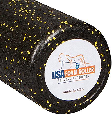 USA Foam Roller, extra fest hochdichtem Schaumstoff Rollen für Bewegung-erhältlich in 91,4cm, 45,7cm, 30,5cm (wählen Sie Farbe) mit 3Jahre Garantie