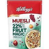 Kellogg's Muesli22%Fruit Magic,Breakfast Cereal,HighinFibre, High in Ironand High in Vitamin C,NaturallyCholesterol