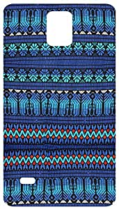 Fabric Tribal Pattern Back Cover Case for Samsung Galaxy Note 4