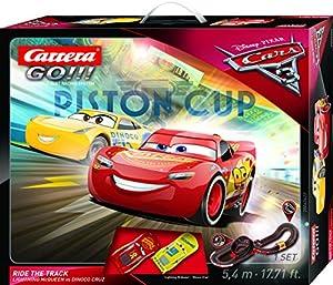 """Carrera Go 20062422 """"Disney/Pixar Cars 3 Ride The Track Carrera"""