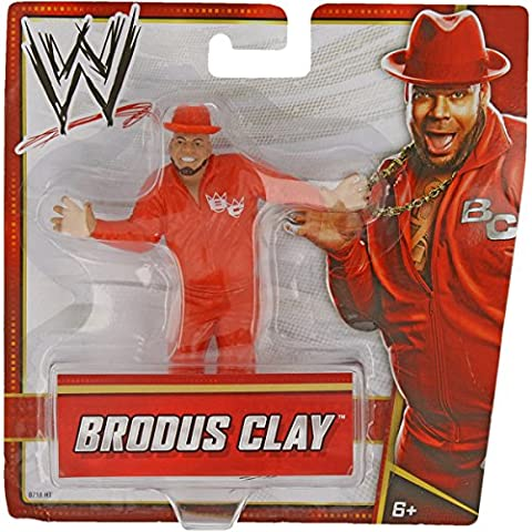 Figurine pour la WWE - Les plus grandes stars de catch (Wrestling-Stars) (Brodus Clay)