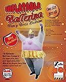 AirSuits Aufblasbares Kostüm Fatsuit Ballerina Fasching Karneval -