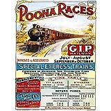 Bumblebeaver TRAVEL POONA Races India Railway Bombay Mumbai