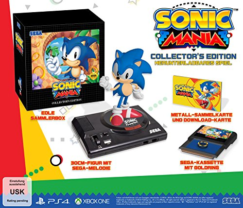 Sonic Mania Collectors Edition - [Xbox One] (Sonic Xbox One)