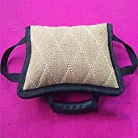 Myyxt Animaux domestiques Commission Tri-Ring Bite Bag Diao Titre Training Practice Hemp Stick