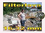 30Kg Filterlava 16-32 mm für Teich Bachlauf Regenerationszone Teichfilter 0,66 Euro/Kg