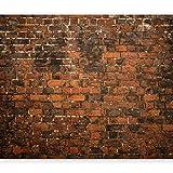 murando Papier peint intissé Brique Optique 400x280 cm Décoration Murale XXL Poster Tableaux Muraux Tapisserie Photo Trompe l'oeil Brick Mur Brique Rouge Mur f-B-0128-a-a