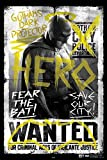 #5: Hungover Batman Poster Batman Vs Superman Artwork Special Paper Poster (13x19 inches)