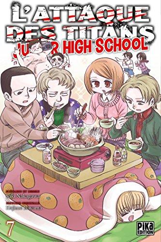 L'Attaque des Titans - Junior High School T07 par Hajime Isayama