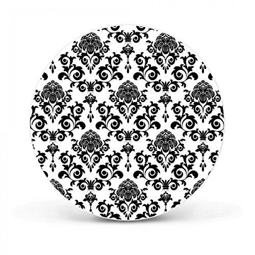 Design Magnettafel von banjado | Pinnwand magnetisch 47cm Ø | Memoboard mit Motiv Barock |...