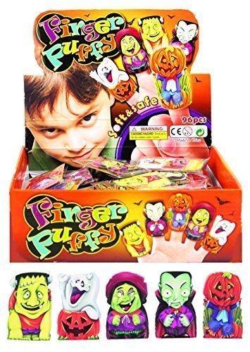 12 x Halloween Fingerpuppen