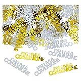 D.I.M.A.V. SRL Coriandoli Decorativi da Tavolo Prima Comunione, Colore Oro E Bianco, 81201