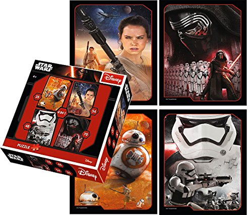 Brigamo 36243 - Star Wars 4 in1 Puzzle Set thumbnail