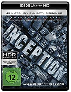 Inception (4K Ultra HD + 2D-Blu-ray) (2-Disc Version) [Blu-ray]