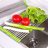 #7: PERFECT SHOPO 1 Pcs Hot Sink Colander Dish Drainer Storage Head Fruit Vegetable Colanders Kitchen Accessories (Assorted Color) - 1 PCS