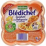 Blédina Blédichef Assiette Spaghetti à la Bolognaise des Tout-Petits dès 12 Mois 230 g