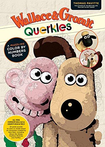Wallace & Gromit Querkles por Thomas Pavitte
