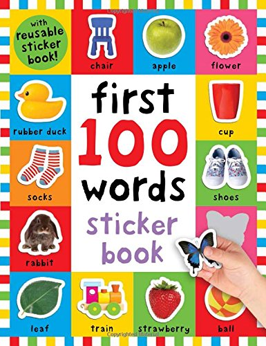 Download Pdf First 100 Words Sticker Book Over 500 Stickers Play