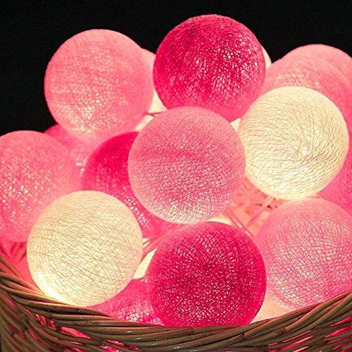 Les petits feux Led lanterne string star les chambres sont décorées des grains de riz Sepak Takraw light princess chambre romantique coréen de la batterie, les adolescentes en poudre - 20 x 4 m avec fiche mâle Queue