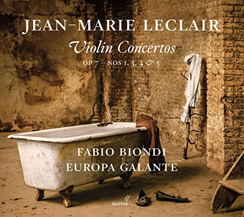 Leclair: Violin Concertos, Op. 7 Nos. 1, 3, 4 & 5 - 5 Glossen