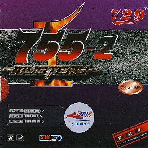 Friendship 755-2 Mystery - Schütt Tischtennis, schwarz, 0.8