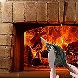 Blasebalg für Kaminofen Holzöfen und Holzkohlegrill Fireplace Bellows