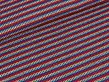 Albstoffe Jacquardjersey Knit Knit Lenis Dream Einhorn türkis-bunt