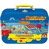 Schmidt Spiele 40573 - Benjamin Blümchen Spielekoffer, Meine ersten Spiele