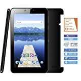 Odys Nova X7 Plus 3G 17,78 cm (7 Zoll) Tablet-PC (Intel Atom x3-C3235RK, 8GB Festplatte, 1GB RAM, Mali-450MP4, Android 6.0) schwarz