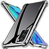 Kensou Coque Huawei P40 Pro Silicone, Huawei P40 Pro Coque 360 AIR Cushion Protection TPU Souple Coque pour Huawei P40…