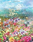 Calendar 2020-2021 Planner: Two years Planner for Organizer Agenda & Diary, Inspirational Quotes, Schedule, Notebook Journal, and Business with ... Watercolor Painting Spring Multicolored Theme